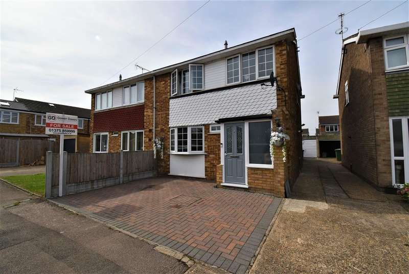 3 Bedrooms Semi Detached House for sale in Hazelwood, Linford