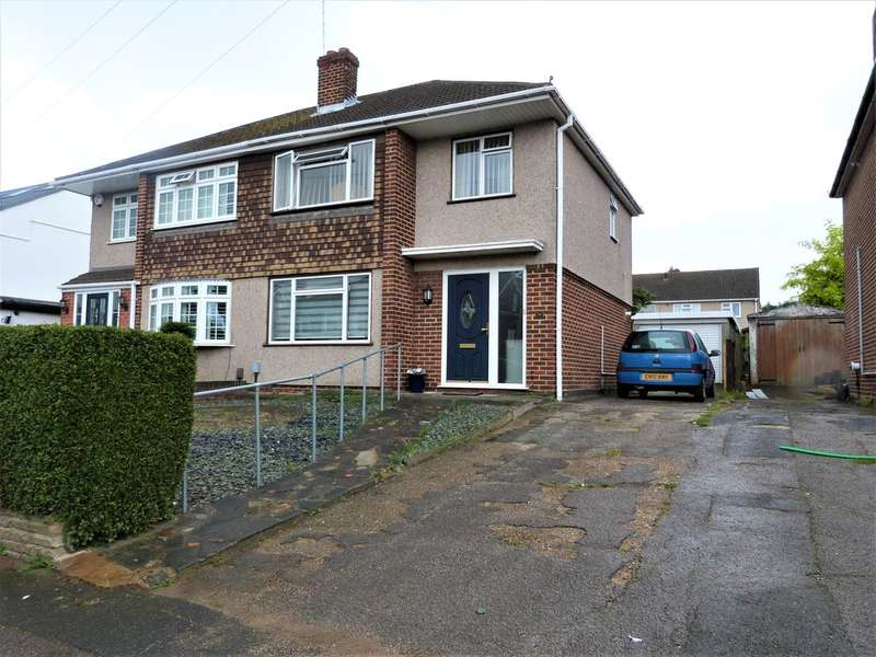 3 Bedrooms Semi Detached House for sale in Woodbrook Gardens, Waltham Abbey