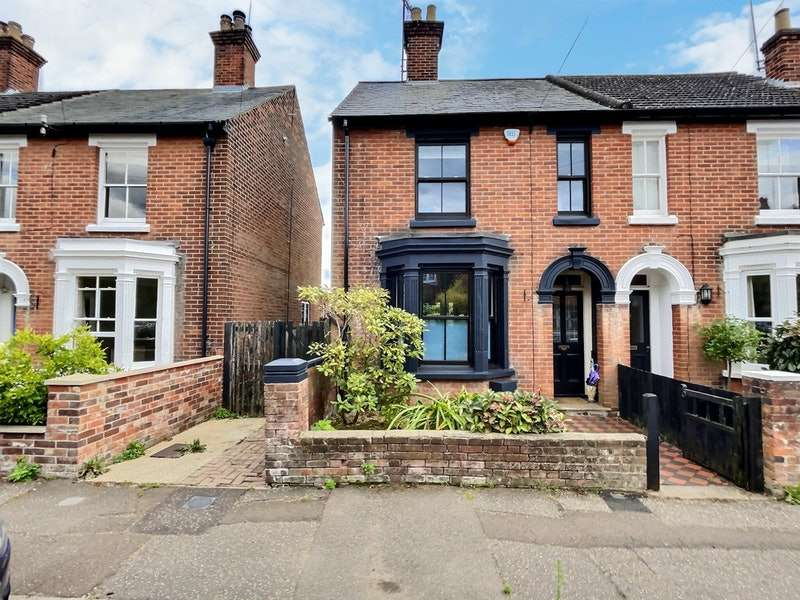 3 Bedrooms Semi Detached House for sale in Irvine Road, Colchester, Essex, CO3