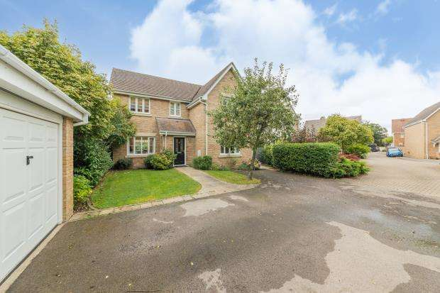 4 Bedrooms Detached House for sale in Flemish Place, Warfield, Bracknell