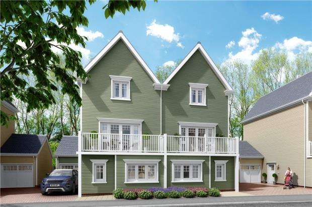 4 Bedrooms Semi Detached House for sale in Green Park Village, Reading, Berkshire