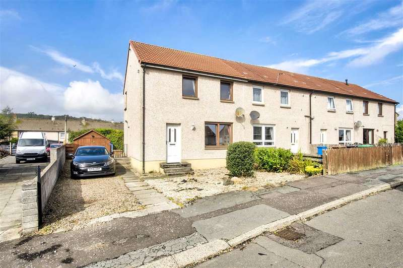 2 Bedrooms End Of Terrace House for sale in Maxwell Crescent, Cowdenbeath
