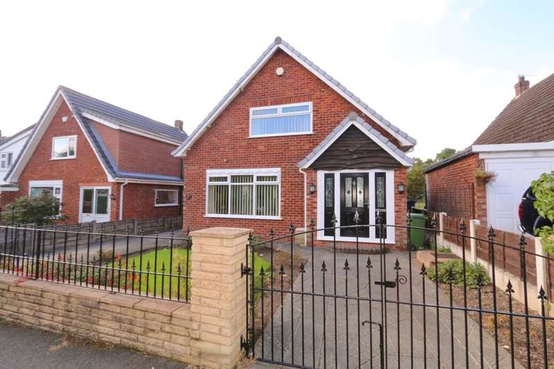 3 Bedrooms Detached House for sale in Kingsley Close, Denton, Manchester, M34