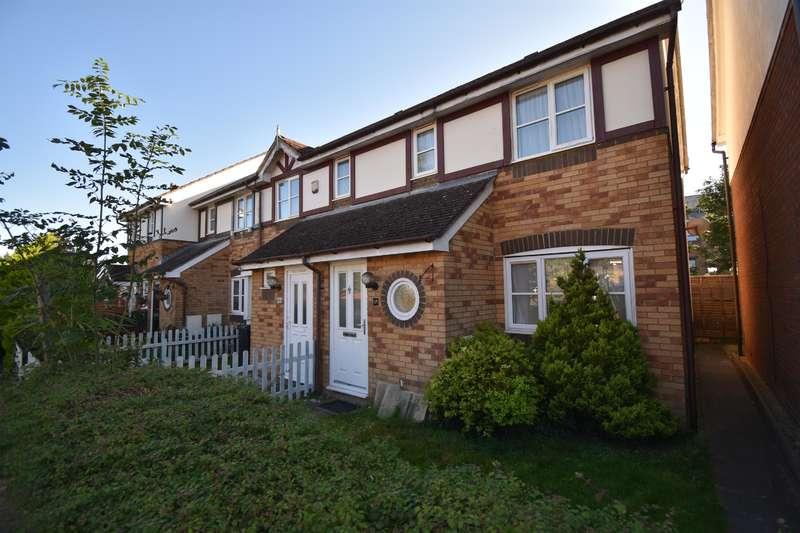 2 Bedrooms End Of Terrace House for sale in Staynes Crescent, Kingswood, Bristol, BS15 4ET