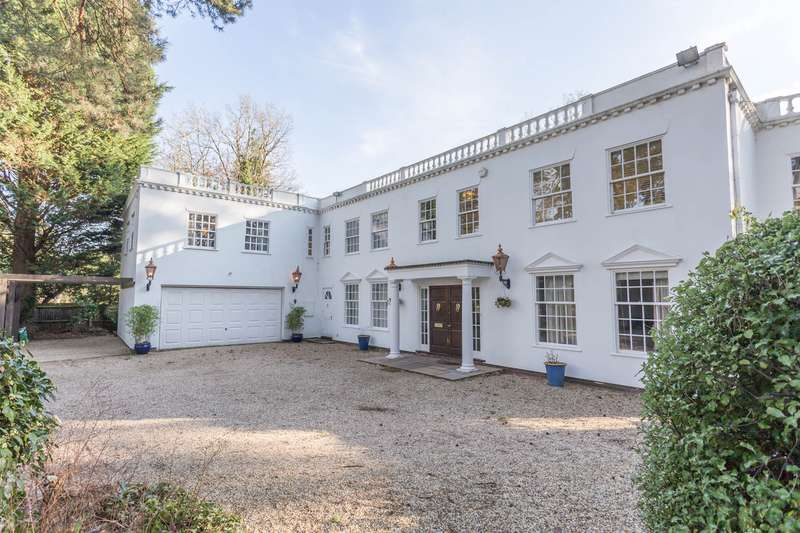 5 Bedrooms Detached House for sale in HUGE POTENTIAL. FRIARY ROAD, SOUTH ASCOT, BERKSHIRE, SL5 9HD