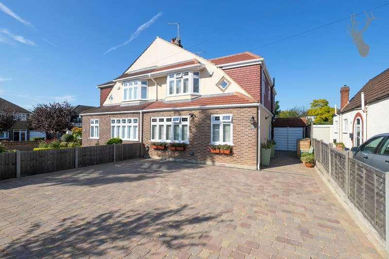 3 Bedrooms Semi Detached House for sale in Heath Drive, Theydon Bois, Epping