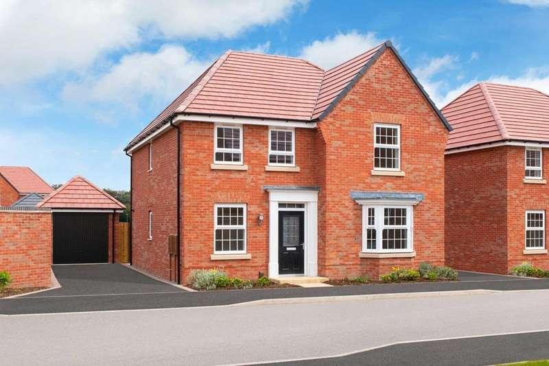 4 Bedrooms House for sale in Holden, David Wilson Homes at Kibworth, Fleckney Road, Kibworth, LEICESTER, LE8 0HG