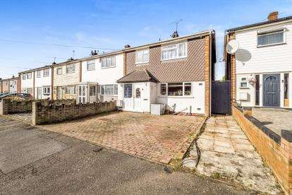 3 Bedrooms End Of Terrace House for sale in Collier Row, Romford, Essex