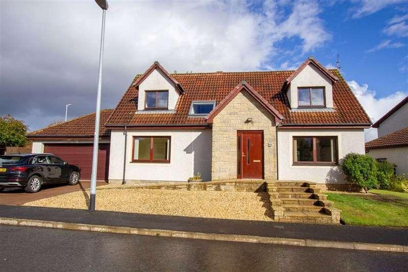 4 Bedrooms Detached House for sale in Bennecourt Drive, Coldstream, Berwickshire, TD12