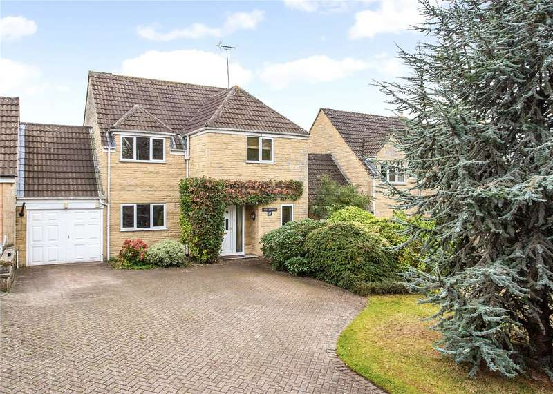 4 Bedrooms Detached House for sale in Cirencester Road, Tetbury, Gloucestershire, GL8