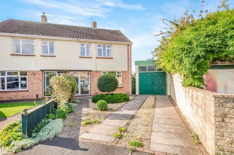 3 Bedrooms Semi Detached House for sale in The Croft, Oldland Common