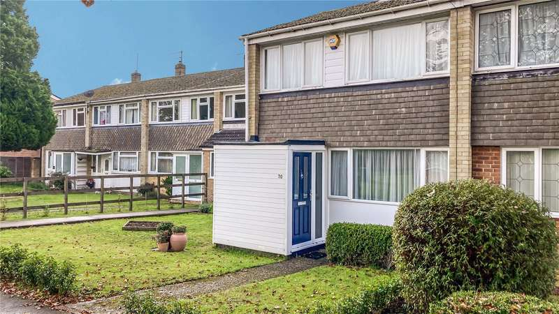 2 Bedrooms End Of Terrace House for sale in Combe Road, Tilehurst, Reading, RG30
