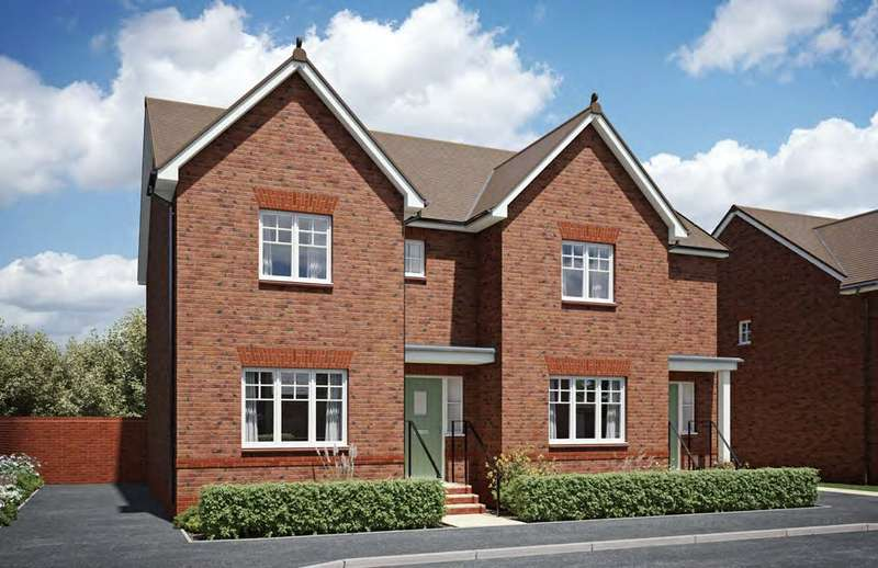 3 Bedrooms Semi Detached House for sale in The Sherston, The Strawberry Field, Rea Lane, Hempsted, GL2