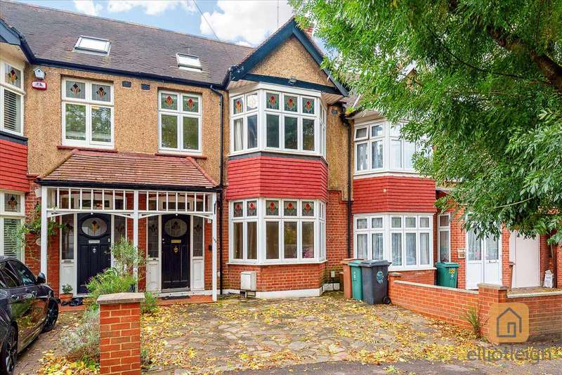 4 Bedrooms Terraced House for sale in Oak Hill Crescent, Woodford Green, IG8