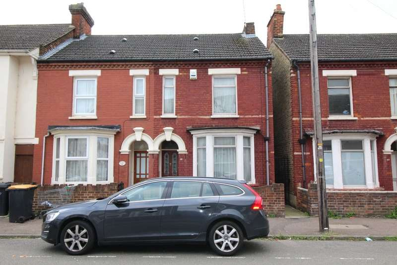2 Bedrooms End Of Terrace House for sale in Houghton Road, Bedford, Bedfordshire, MK42