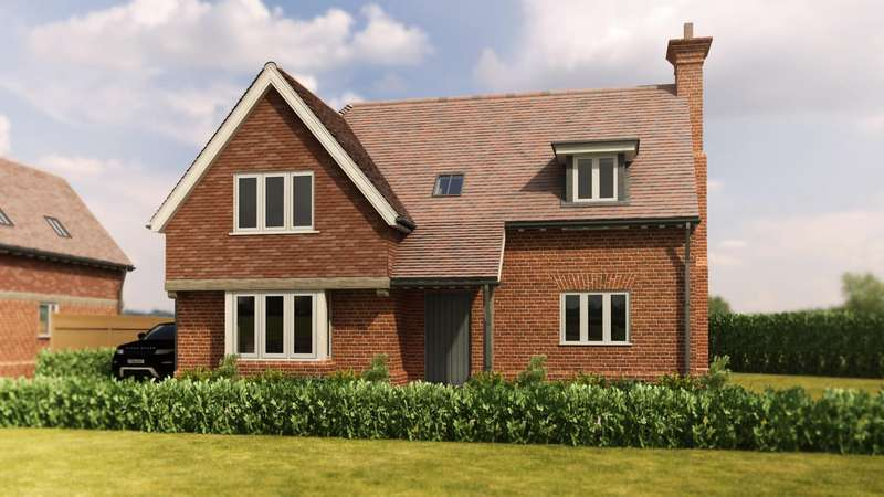 4 Bedrooms Detached House for sale in Bannister Green, Felsted, Dunmow