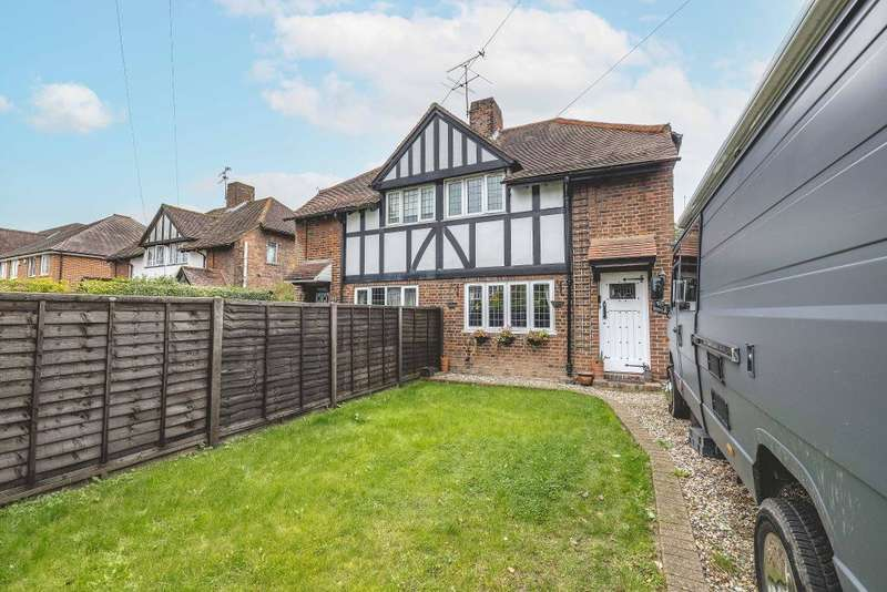 3 Bedrooms Semi Detached House for sale in Bath Road, Taplow, Maidenhead, SL6 0PR