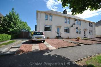 2 Bedrooms Flat for sale in 75 Culzean Crescent, Kilmarnock, KA3 7DS