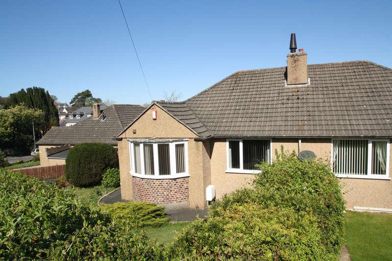 2 Bedrooms Semi Detached Bungalow for sale in Oakdene Rise, Plymstock.