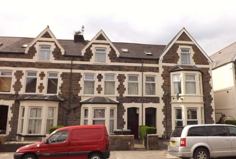 Terraced House for sale in ROATH - Substantial Residential Investment comprising 3 adjoining 3 storey properties divided into 9 apartments