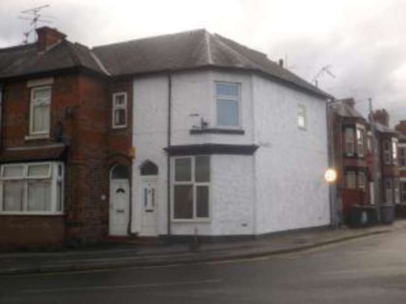 3 Bedrooms End Of Terrace House for sale in Gresty Road, Crewe, Cheshire