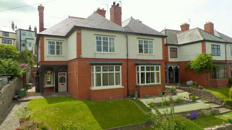 5 Bedrooms Semi Detached House for sale in Tan Y Gwalia, Denbigh