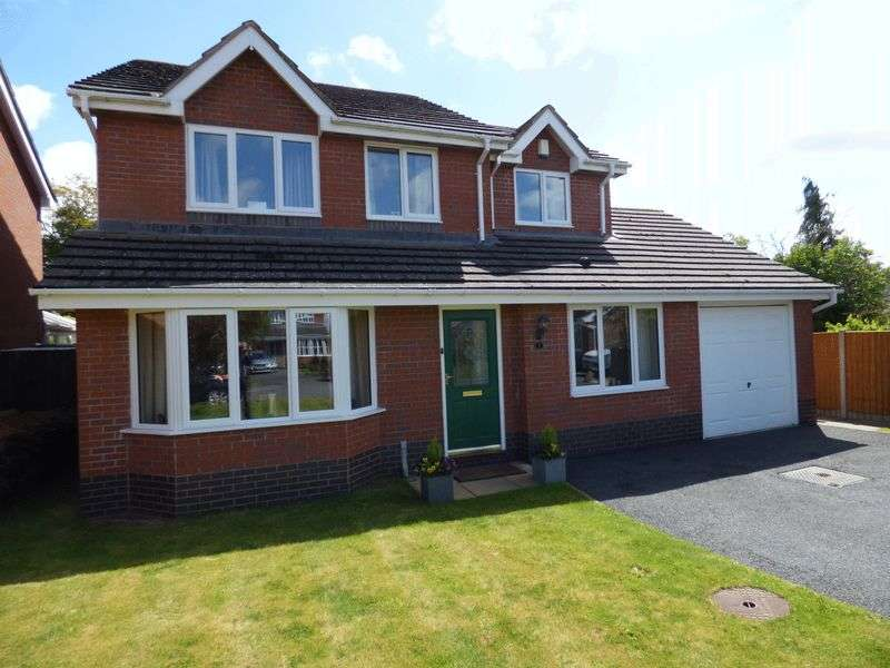 4 Bedrooms Detached House for sale in Willowfields, Hereford