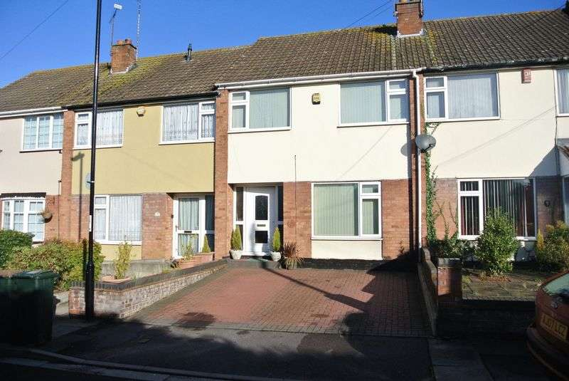 3 Bedrooms Terraced House for sale in Newton Close, Coventry