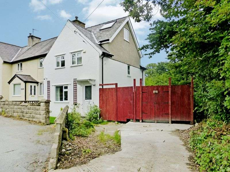 4 Bedrooms Terraced House for sale in Brynrefail