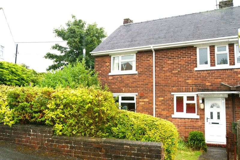3 Bedrooms Semi Detached House for sale in Bryn Rhedyn, Southsea, Wrexham