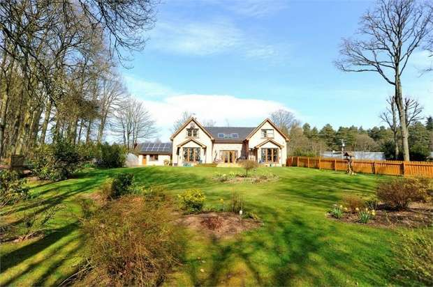 4 Bedrooms Detached House for sale in Luthermuir, Laurencekirk, Aberdeenshire