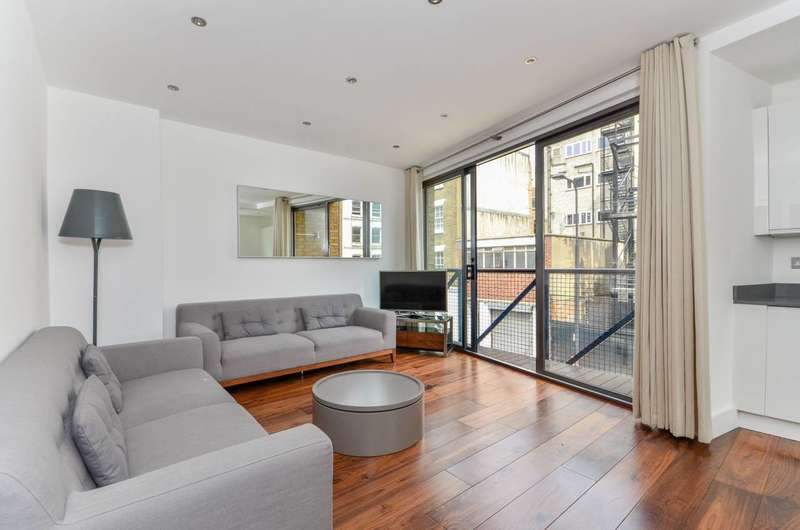 2 Bedrooms Flat for sale in Goodge Street, Marylebone, W1T