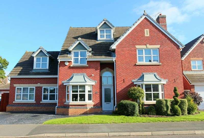 5 Bedrooms Detached House for sale in Talbot Way, Nantwich