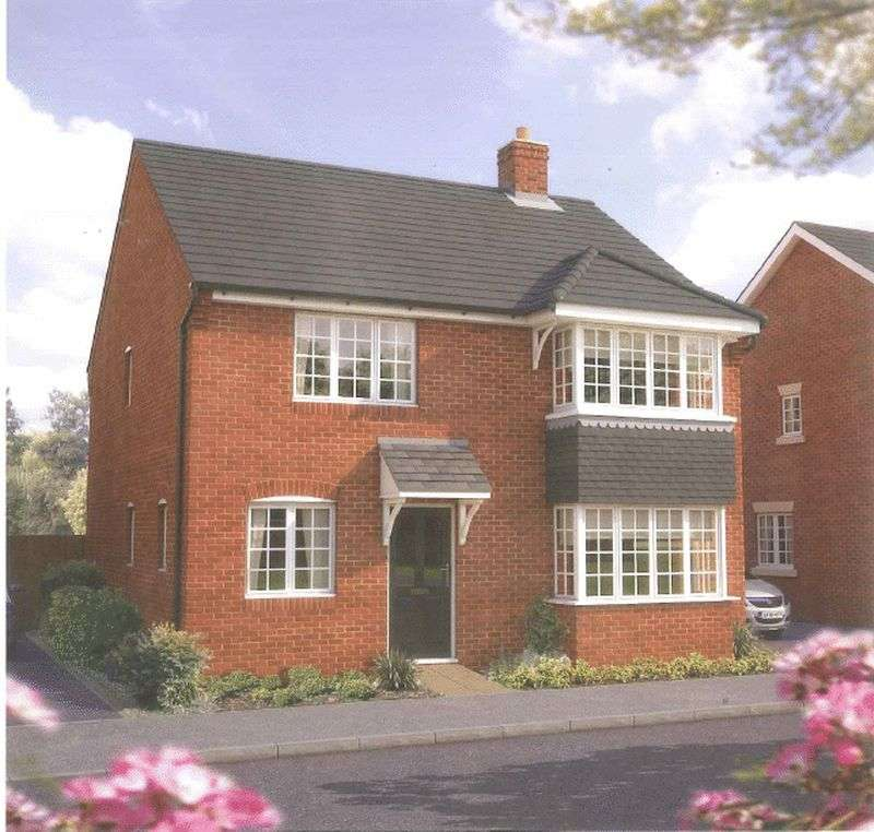 4 Bedrooms Detached House for sale in A brand new development of 2, 3, 4 & 5 bedroom homes at Bramble Chase, Honeybourne, Worcestershire WR11 7XR