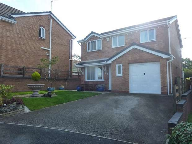 4 Bedrooms Detached House for sale in Kingsbury Court, Skelmersdale, Lancashire