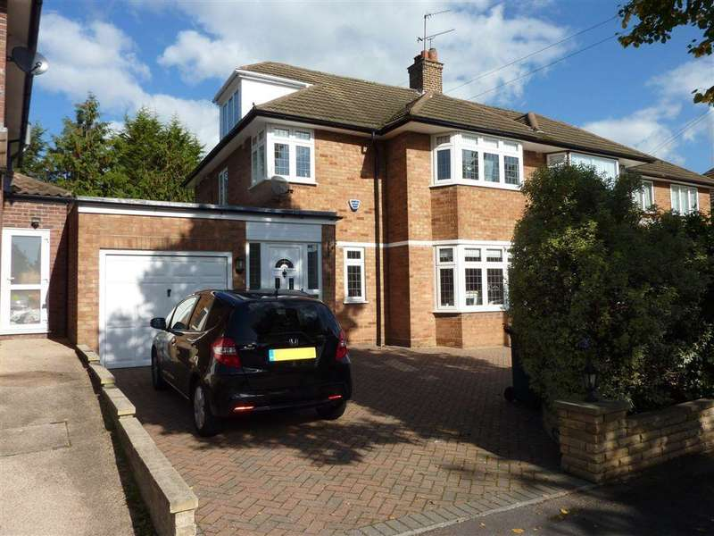 4 Bedrooms Semi Detached House for sale in FRANCKLYN GARDENS, EDGWARE