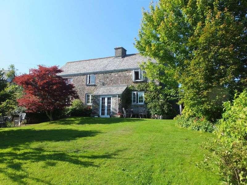 4 Bedrooms Detached House for sale in Pillaton, Saltash