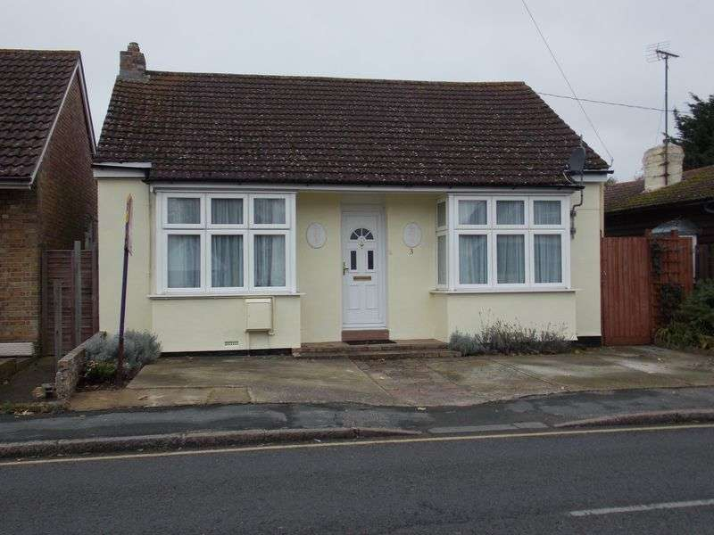 3 Bedrooms Detached Bungalow for sale in Kirby Road, Walton-on-the-Naze