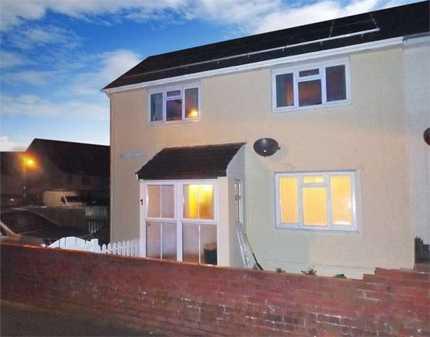 4 Bedrooms End Of Terrace House for sale in Brynawelon, Stop and Call, Goodwick, Pembrokeshire