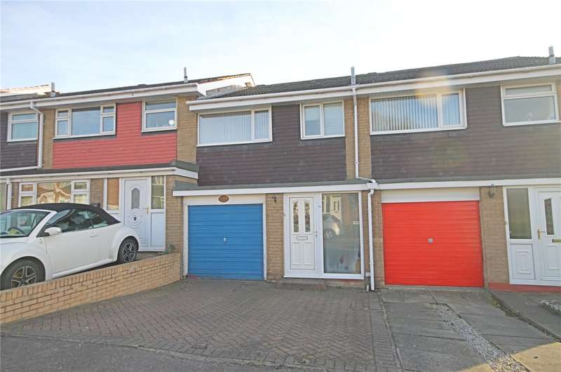 3 Bedrooms Terraced House for sale in Ridgeway, Darlington, County Durham, DL3