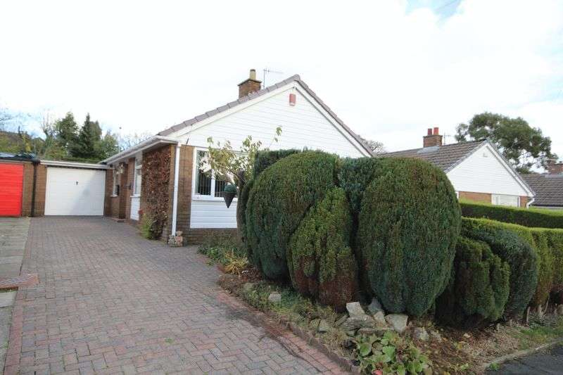 3 Bedrooms Detached Bungalow for sale in HAREWOOD ROAD, Norden, Rochdale OL11 5TG