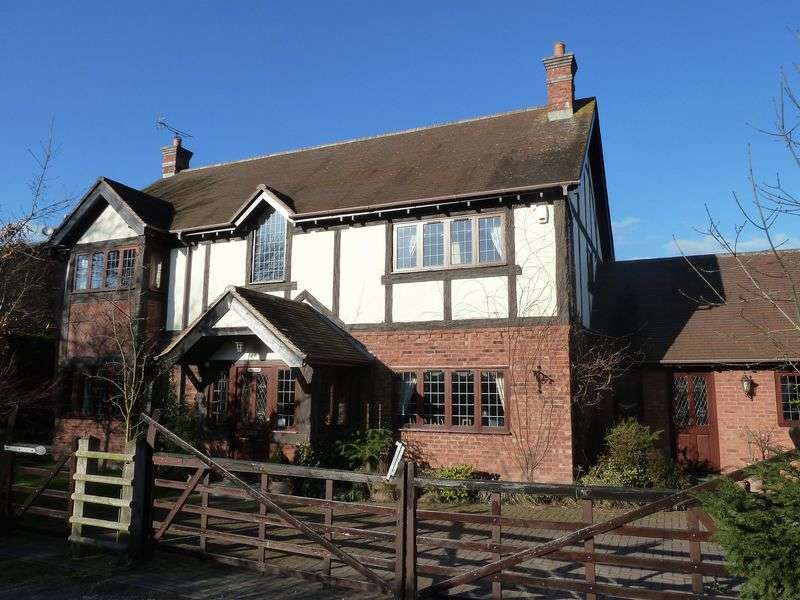 4 Bedrooms Detached House for sale in Weston, Near Nantwich