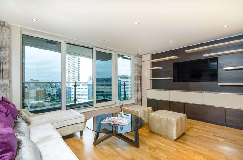 2 Bedrooms Flat for sale in The Boulevard, Imperial Wharf, SW6