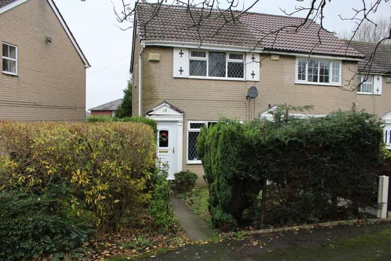 2 Bedrooms Semi Detached House for sale in Tamebarn Close, Milnrow