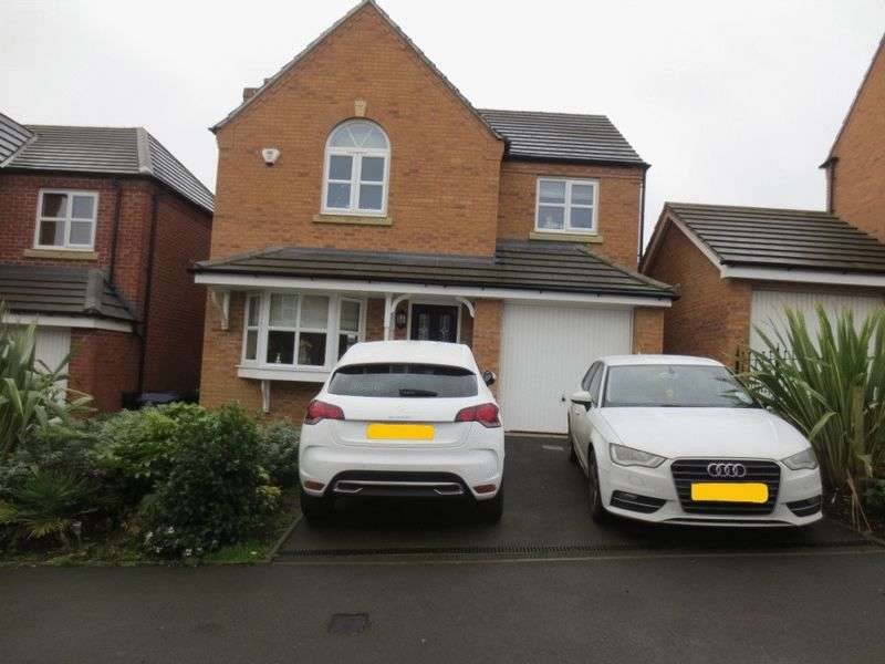 4 Bedrooms Detached House for sale in Ditta Drive, Oldbury