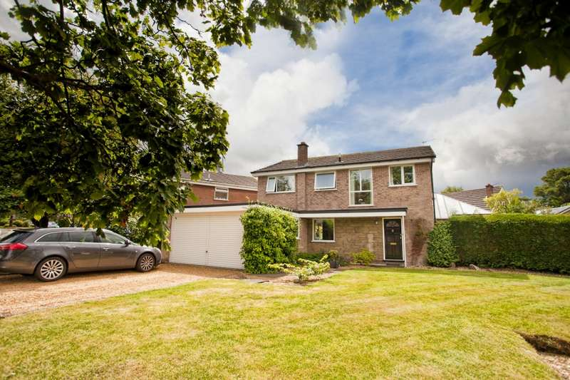 4 Bedrooms Detached House for sale in Shearbrook Lane, Goostrey, Cheshire, CW4