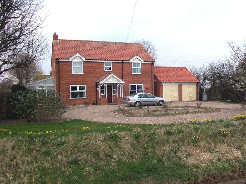 4 Bedrooms Detached House for sale in Whitegates, Main Road, Saltfleetby