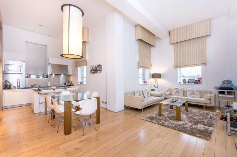 2 Bedrooms Flat for sale in Hall Road, St John's Wood, NW8