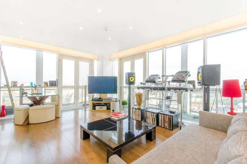 1 Bedroom Flat for sale in Westferry Circus, Canary Wharf, E14