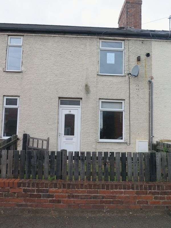 3 Bedrooms Terraced House for sale in Portland Terrace, Langwith